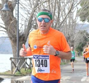 Vincenzo in corsa